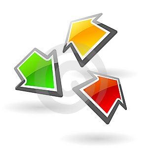 Glassy Web Sign Stock Image - Image: 8585921