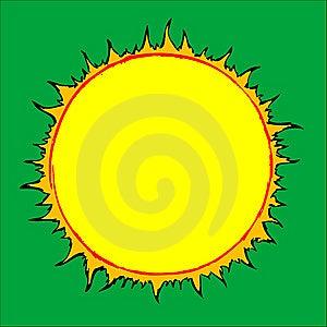 Drawn Sun Royalty Free Stock Photos - Image: 8586438