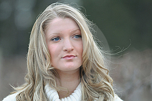 Blond Teen Royalty Free Stock Images - Image: 8586689