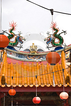 Chinese Buddhist Temple Stock Photos - Image: 8586753