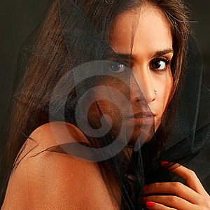 Under A Veil Stock Image - Image: 8587271