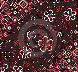 Floral Wallpaper. Vector. Royalty Free Stock Photo - Image: 8587275