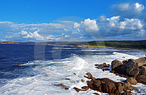 Seascape Royalty Free Stock Images - Image: 8589269