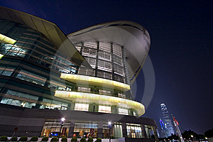 Hong Kong Convention And Exhibition Centre Royalty Free Stock Photo - Image: 8589725