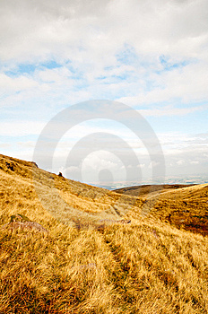 Open Moorland Royalty Free Stock Photos - Image: 8589798