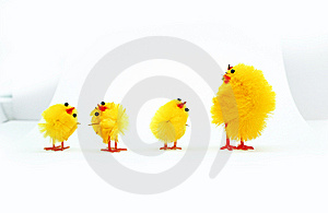 Easter Chickens Royalty Free Stock Photos - Image: 8589838
