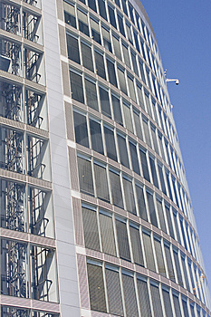 Business Center Of Modern Architecture Building Stock Photo - Image: 8590140