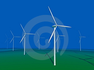 Windmill Royalty Free Stock Photography - Image: 8590147
