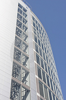 Business Center Of Modern Architecture Building Royalty Free Stock Images - Image: 8590169