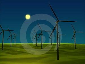 Windmill Royalty Free Stock Image - Image: 8590206