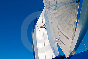 White Sails Stock Photo - Image: 8590350