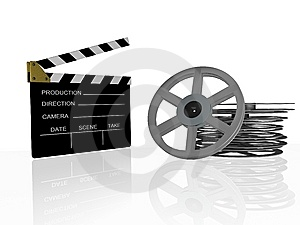 Clapboard Royalty Free Stock Images - Image: 8590429