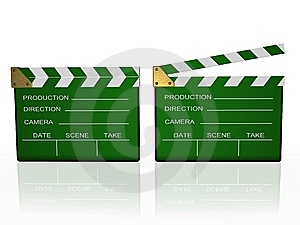 Clapboard Royalty Free Stock Photos - Image: 8590438