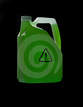 Can With Biohazard Content Stock Photos - Image: 8590773