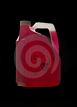 Can With Biohazard Content Stock Images - Image: 8590784