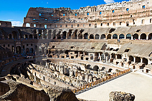 Colosseum In Rome Royalty Free Stock Photography - Image: 8590787