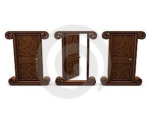 1 Door Open Royalty Free Stock Photo - Image: 8590945