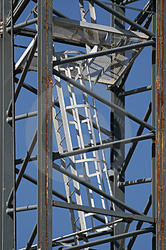 Scaffolding Ladder Royalty Free Stock Photo - Image: 8591315