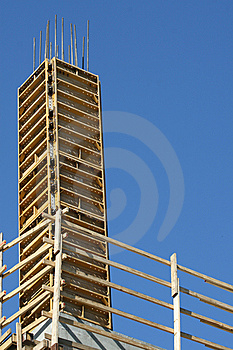 Wooden Scaffolding Stock Photography - Image: 8591322