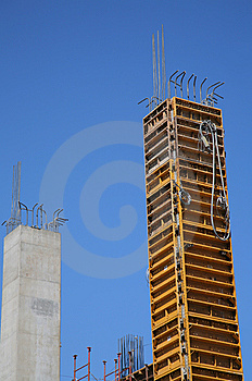 Construction Work Site Royalty Free Stock Photo - Image: 8591345