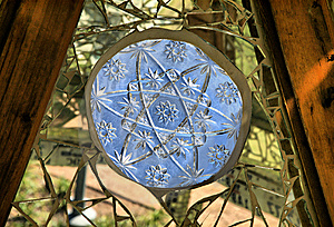 Blue Christmas Star Royalty Free Stock Image - Image: 8591356