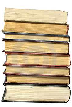 Heap Of Books Stock Image - Image: 8591451