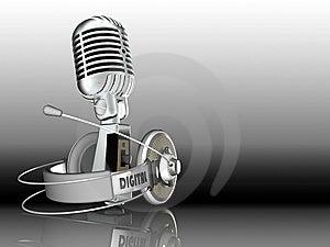Headphone Stock Photos - Image: 8591463