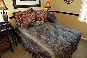 Modern Luxury Home Bedroom. Stock Image - Image: 8592121