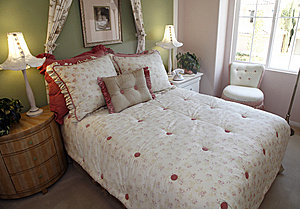 Modern Luxury Home Bedroom. Royalty Free Stock Photography - Image: 8592167
