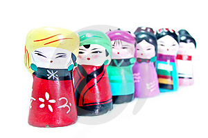 Chinese Figurines Royalty Free Stock Photography - Image: 8592357