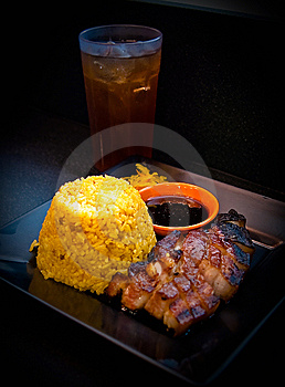 Rib Barbeque Meal Stock Photography - Image: 8592942