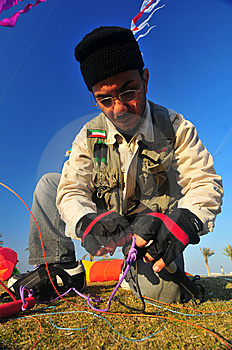 Buhamad Kites Team Royalty Free Stock Photos - Image: 8593188