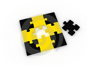 Puzzle Stock Photos - Image: 8593303