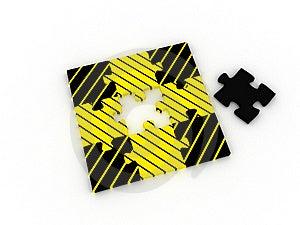 Puzzle Stock Image - Image: 8593441