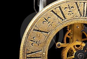 Antique Clock Stock Photo - Image: 8593800