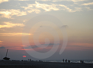 Sunset Royalty Free Stock Image - Image: 8594526