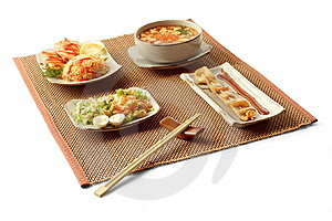 Asian Lunch 3 Royalty Free Stock Photos - Image: 8595318