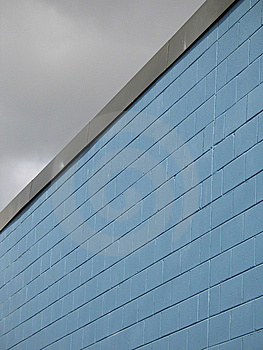 Blue Building Royalty Free Stock Photo - Image: 8595325