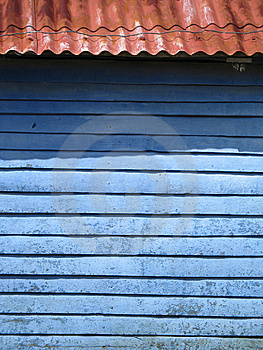 Blue Wall Royalty Free Stock Photo - Image: 8595765