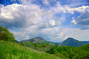 Mountain Meadow Royalty Free Stock Image - Image: 8595846