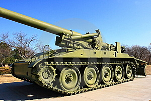 M110-A2 Howitzer Royalty Free Stock Photos - Image: 8597058