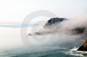 Oregon Coast Royalty Free Stock Images - Image: 8597359