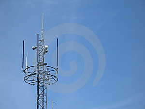 Communication Tower Royalty Free Stock Images - Image: 8597619