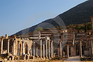 Columns And Capitals Royalty Free Stock Photography - Image: 8597647