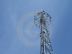 Communication Tower Royalty Free Stock Photo - Image: 8597665