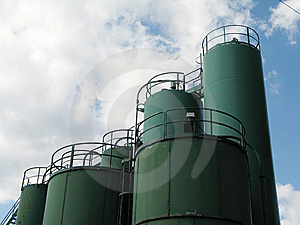 Industrial Building Stock Images - Image: 8597994