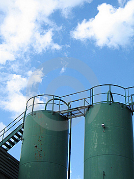 Industrial Building Stock Image - Image: 8598001