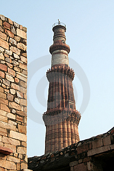 Qutb Minar Royalty Free Stock Image - Image: 8598016