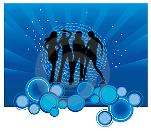 Dancing Girls Stock Image - Image: 8598041