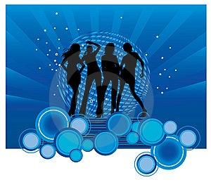 Dancing Girls Stock Image - Image: 8598041
